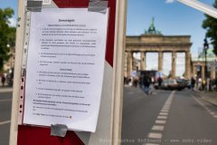 Demoregeln, Kündigt Ramstein, Berlin
