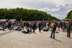 Friedenskundgebung in Berlin 30. Mai 2020