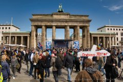 Brandenburger Tor, Friedensdemo