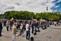 Kundgebung, Berlin 30. Mai 2020