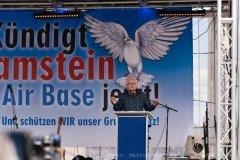 Ploppa bei der Demo Kündigt Ramstein, Berlin