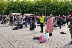 Friedensbewegte in Berlin