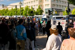 Demo an der US-Botschaft