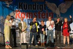 Mitwirkende der Demo Kündigt Ramstein