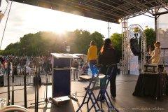 Bühnenblick vom Brandenburger Tor